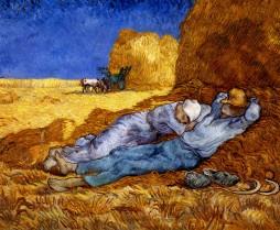 1889-Van-Gogh-La-Sieste