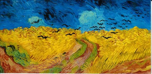 Van Gogh Champ de ble corbeaux